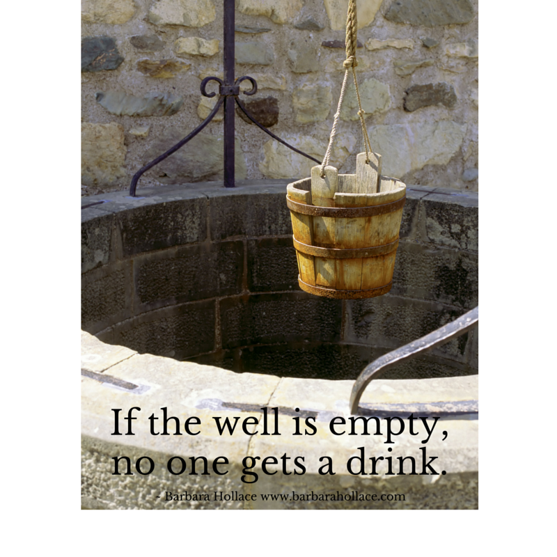 An Empty Well | Barbara Hollace